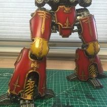 ForgeWorld Warlord Titan Legs 2