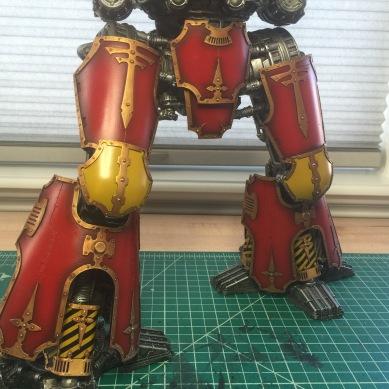 ForgeWorld Warlord Titan Legs