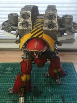 ForgeWorld Warlord Titan Top View WIP