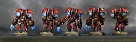 Blood Angels Assault Marines - Back