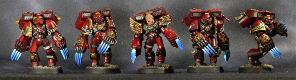 Blood Angels Assault Marines - Front