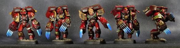 Blood Angels Assault Marines - Front