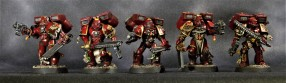 Blood Angels Assault Marines 2 - Front