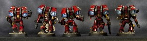 Blood Angels Assault Marines 2 - Back